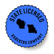 Asbestos State Licensed Badge