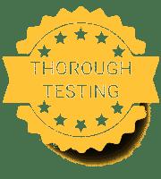 Thorough Testing Badge