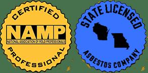 Mold and Asbestos Badges